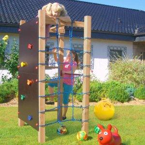 Multispielanlage zum Klettern für Kinder