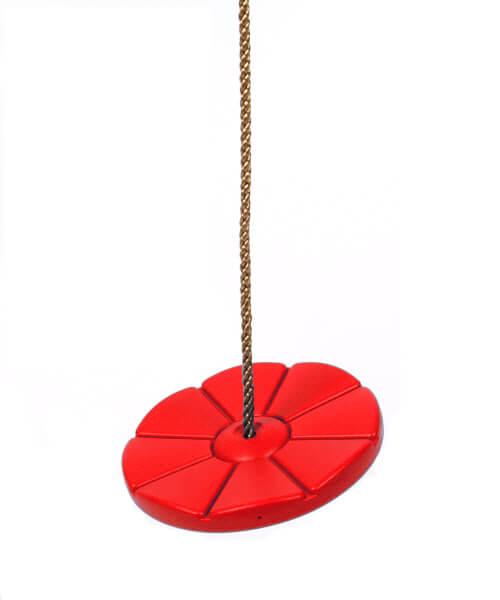 Tellerschaukel in Rot