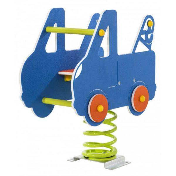 Federwippgerät Abschleppwagen