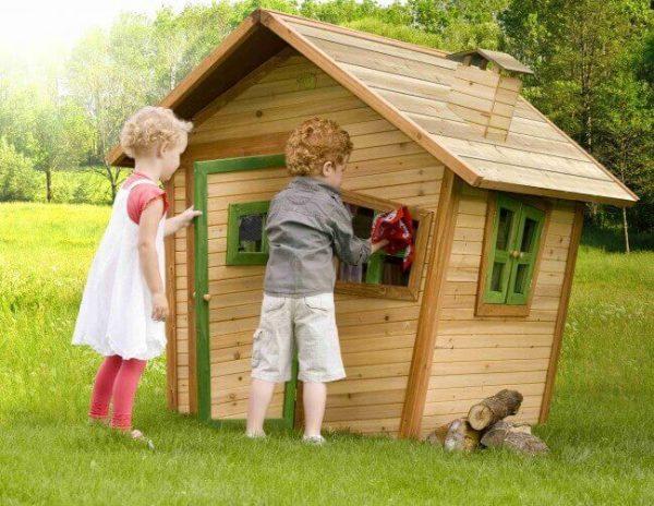 Kinderspielhaus Alice für den Garten