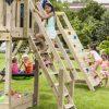 Anbaumodul Treppe für Spieltürme von Blue Rabbit