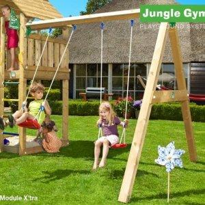 Anbauschaukel für Jungle Gym Spieltürme