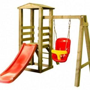Babyturm für Kleinkinder mit Schaukel