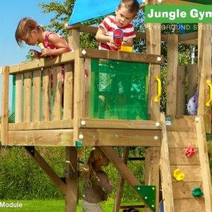 Anbaumodul Balkon für Spieltürme von Jungle Gym