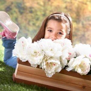 Blumenkasten zum Anbringen an ein Spielhaus
