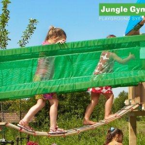 Hängebrücke für die Spieltürme von Jungle Gym