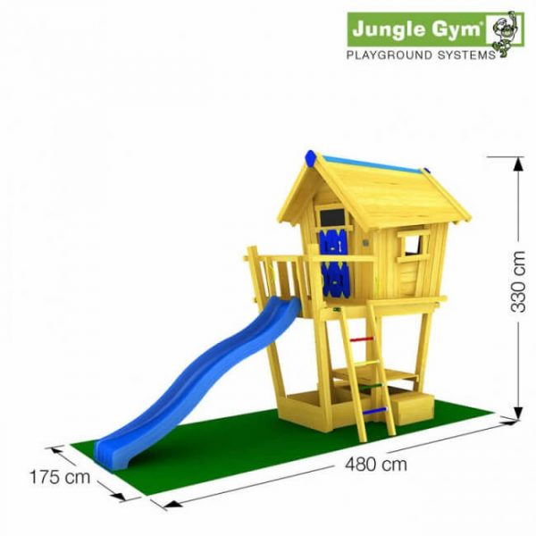 Crazy Playhouse von Jungle Gym Skizze