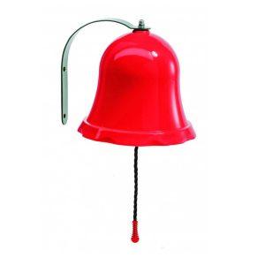 Rote Glocke für Spielhäuser