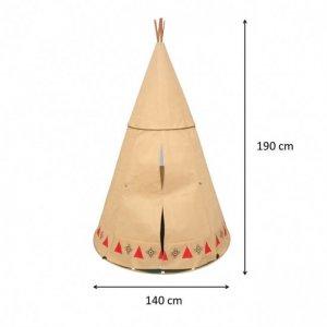 Maße Apachen Indianerzelt für Kinder