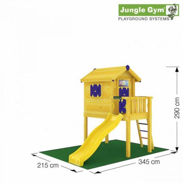 Jungle Playhouse XL von Jungle Gym - Skizze