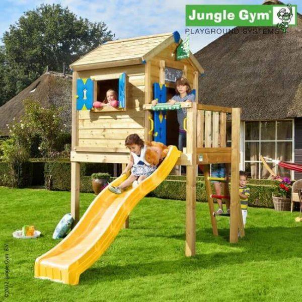 Gelbe Rutsche Jungle Playhouse