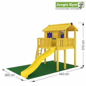 Jungle Playhouse XL von Jungle Gym - Stelzenhaus für Kinder