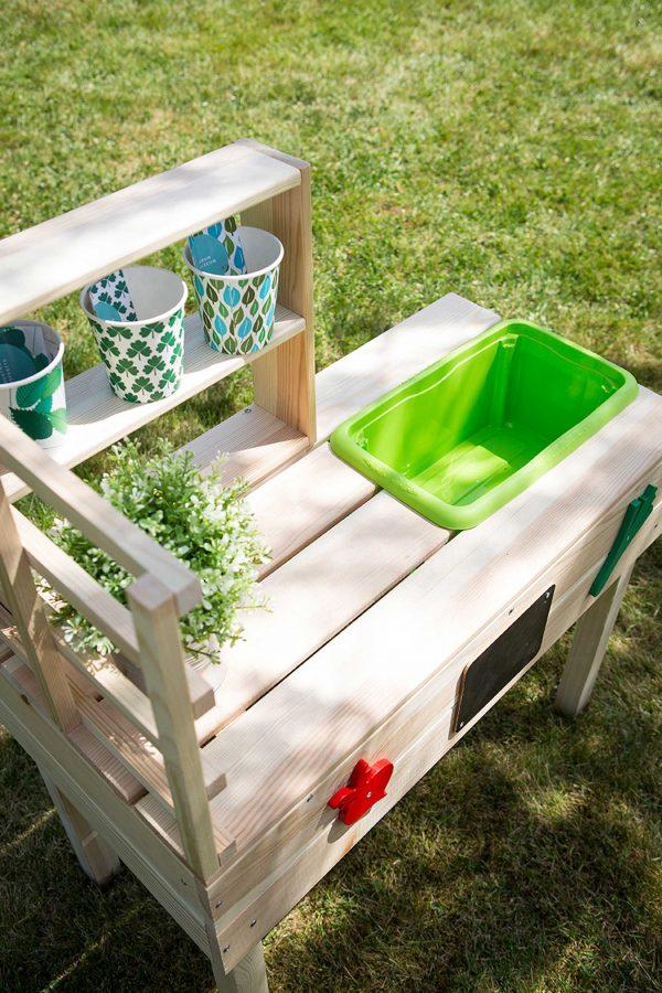 Kinder-Gartentisch für spielendes Lernen