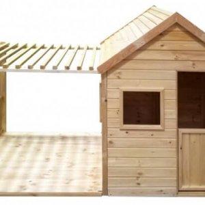 Kinderspielhaus XL mit Veranda für den Garten