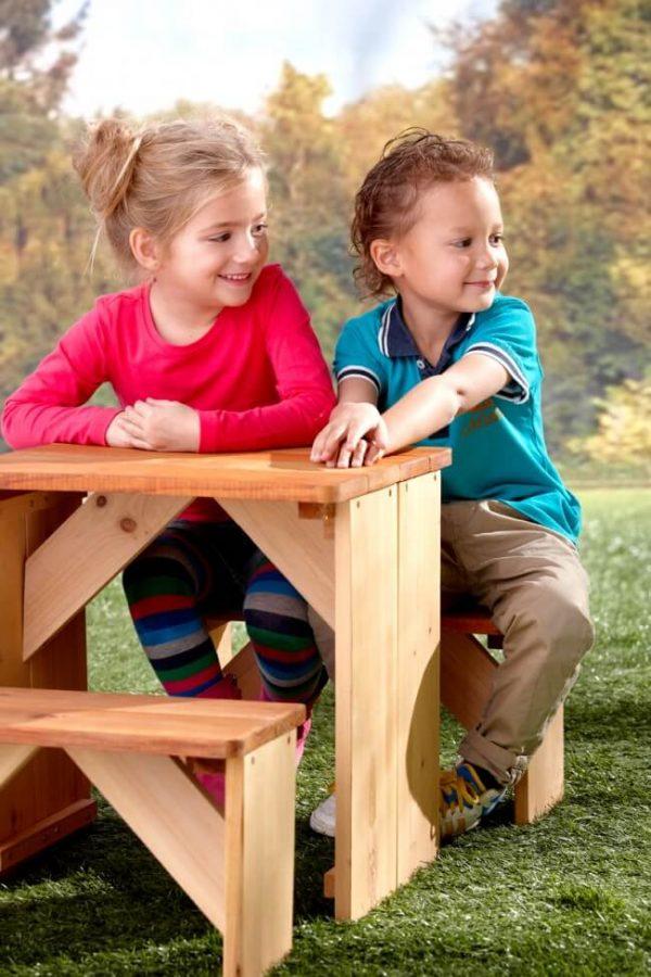 Kindertisch Zidzed für den Garten