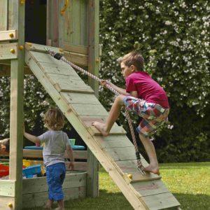 Kletterwand für die Blue Rabbit Spieltürme @ramp 150
