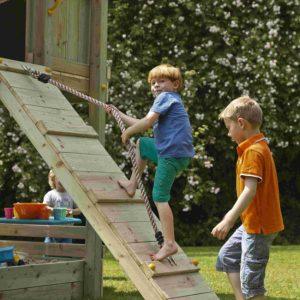 Kletterwand für die Blue Rabbit Spieltürme @ramp 120
