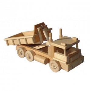 Holzspielzeug LKW aus Buchenholz