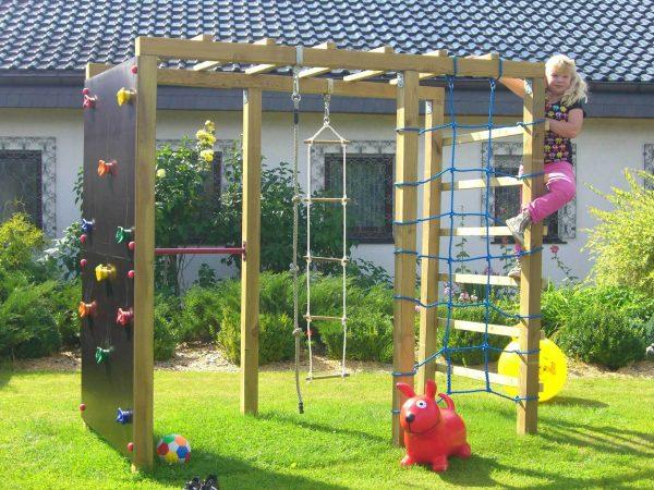 Multispielanlage XXL für den Garten