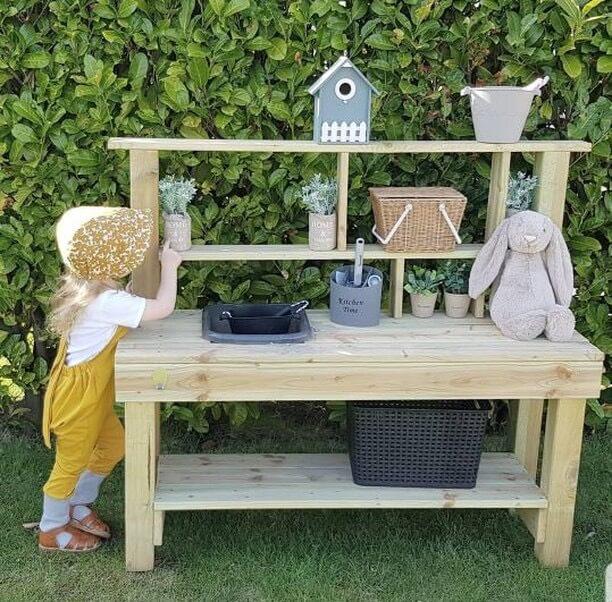Matsch-Küche Outdoor Für Kinder