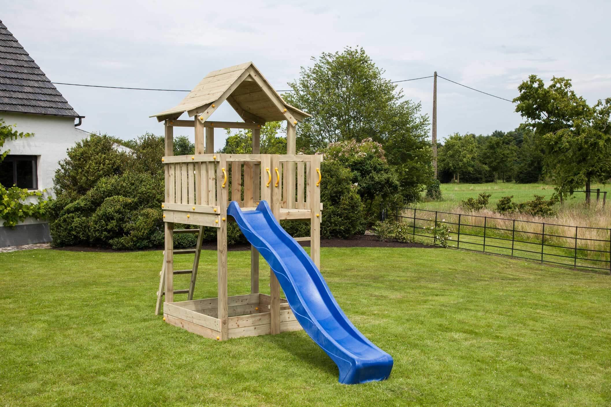 Beliebt Blue Rabbit Spielturm Pagoda 120 cm - Spiel und Garten IQ22