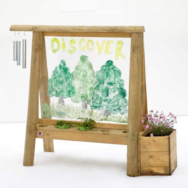 Plum Discovery Tafel - Outdoor-Staffelei für Kinder