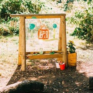 Plum Discovery Tafel - Outdoor-Staffelei