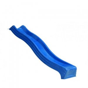 Blaue Rutsche für Spieltürme