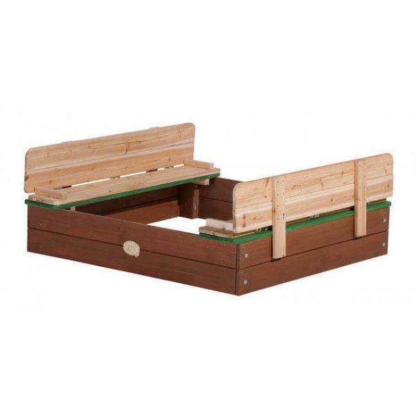 Sandkasten aus Zedernholz für den Garten