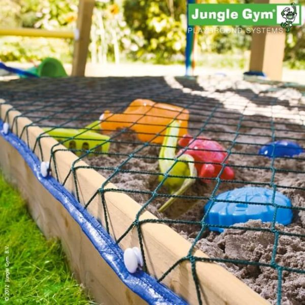 Sandkasten im Jungle Gym Spielturm