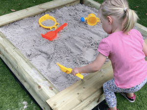 Sandkasten Aufbau-Tutorial