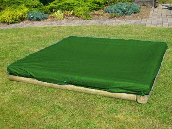 Sandkastenplane in grün