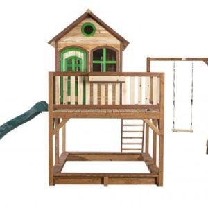 Spielhaus Liam mit Einzelschaukel