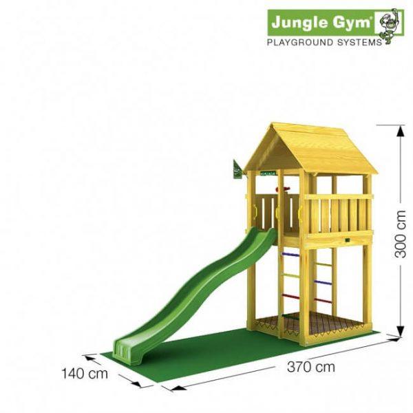 Spielturm Cabin von Jungle Gym