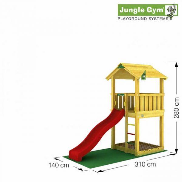 Skizze Spielturm Casa von Jungle Gym