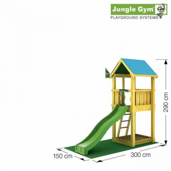 Skizze Spielturm Castle von Jungle Gym
