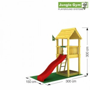 Skizze Spielturm Club von Jungle Gym