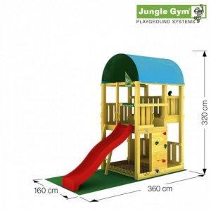 Skizze: Spielturm Farm von Jungle Gym