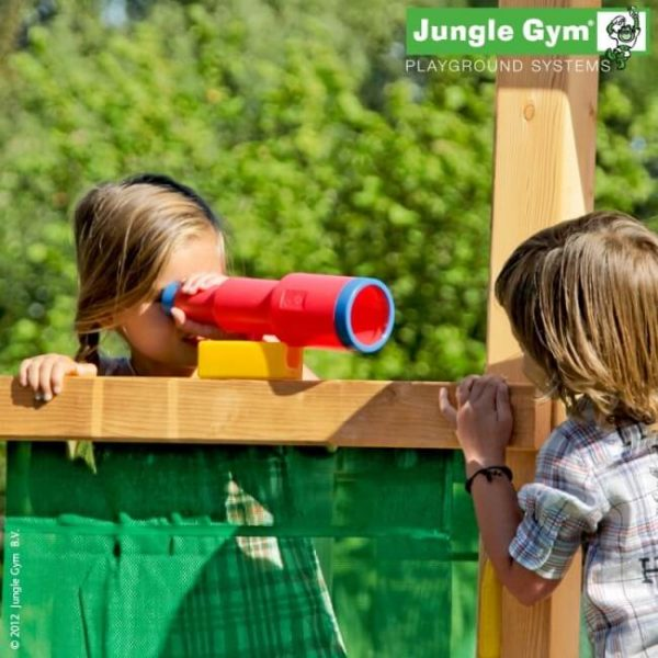 Rotes Fernrohr für Jungle Gym Spieltürme