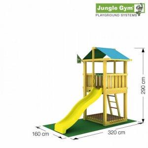 Skizze Spielturm Hut von Jungle Gym