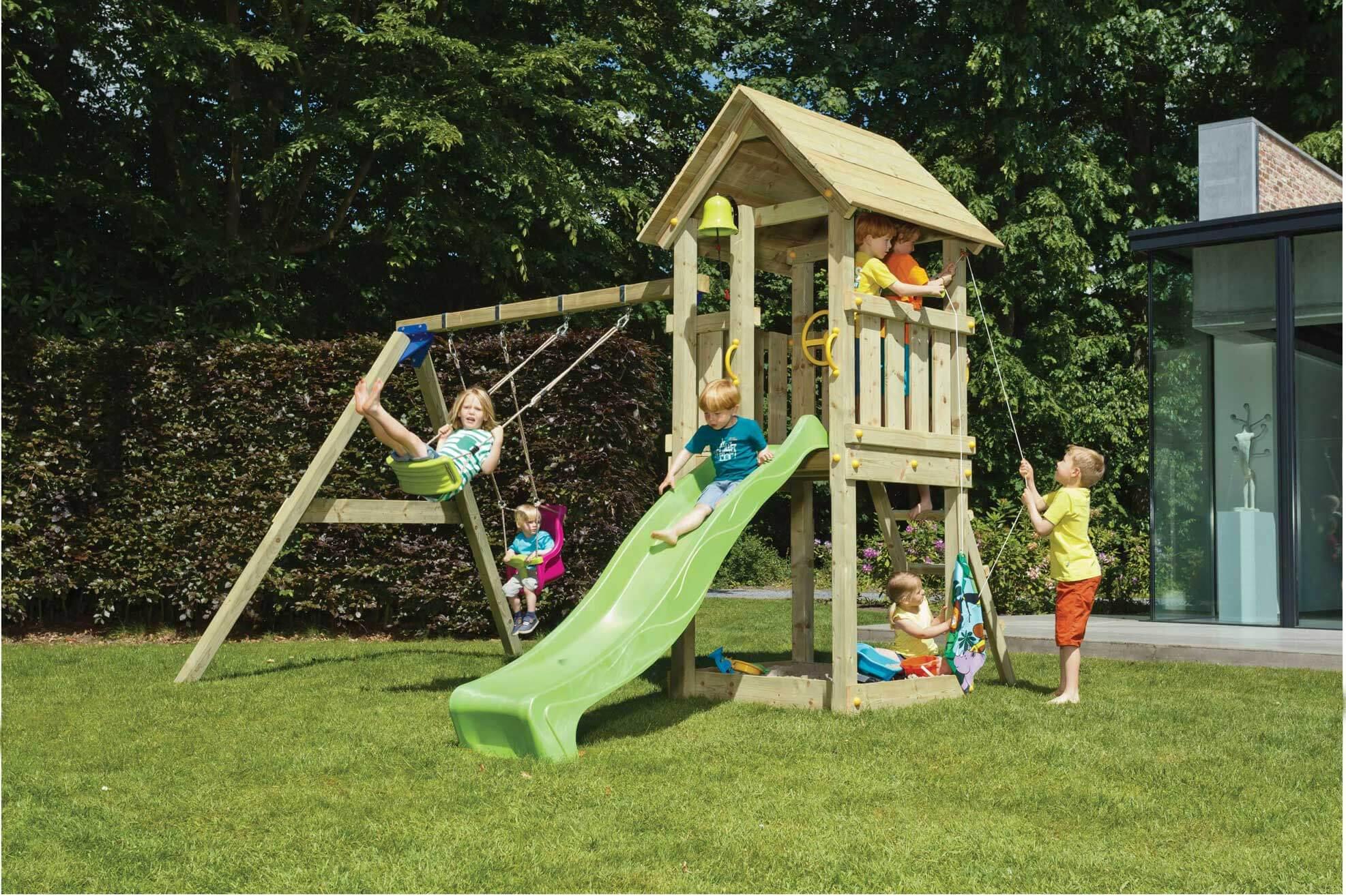 Gut gemocht Blue Rabbit Spielturm Kiosk 150 cm Podesthöhe - Spiel und Garten LG61