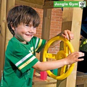 Gelbes Lenkrad für Spieltürme von Jungle Gym