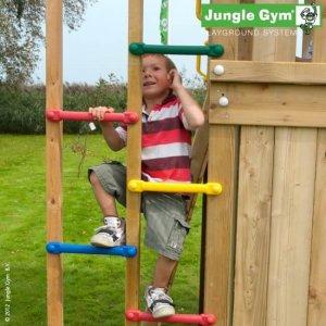 Jungle Gym Spieltürme mit bunter Kletterleiter