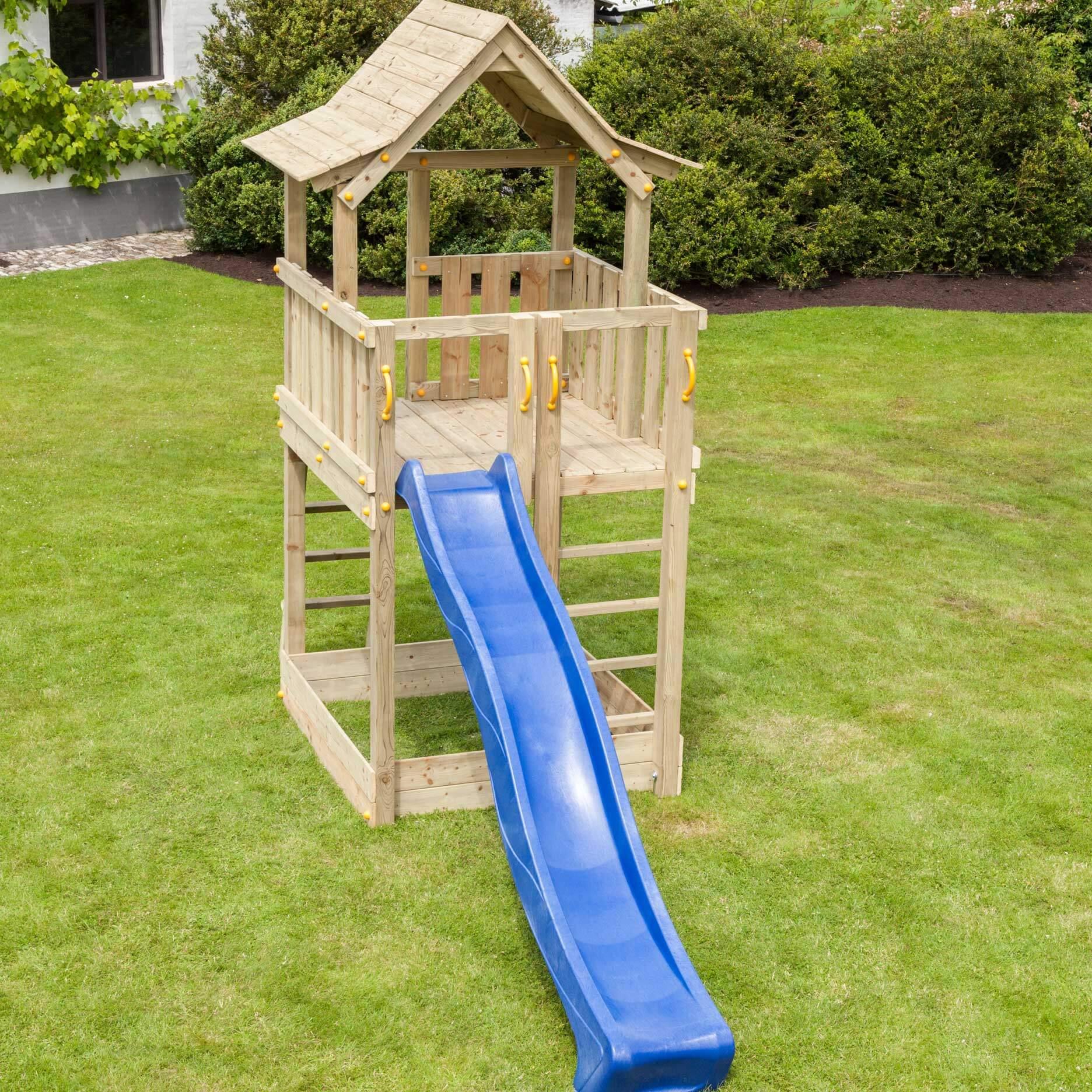 Beliebt Blue Rabbit Spielturm Pagoda 150 cm Podesthöhe - Spiel und Garten JJ24