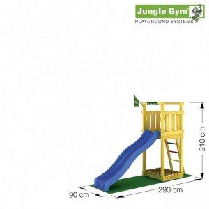 Skizze Spielturm Tower von Jungle Gym