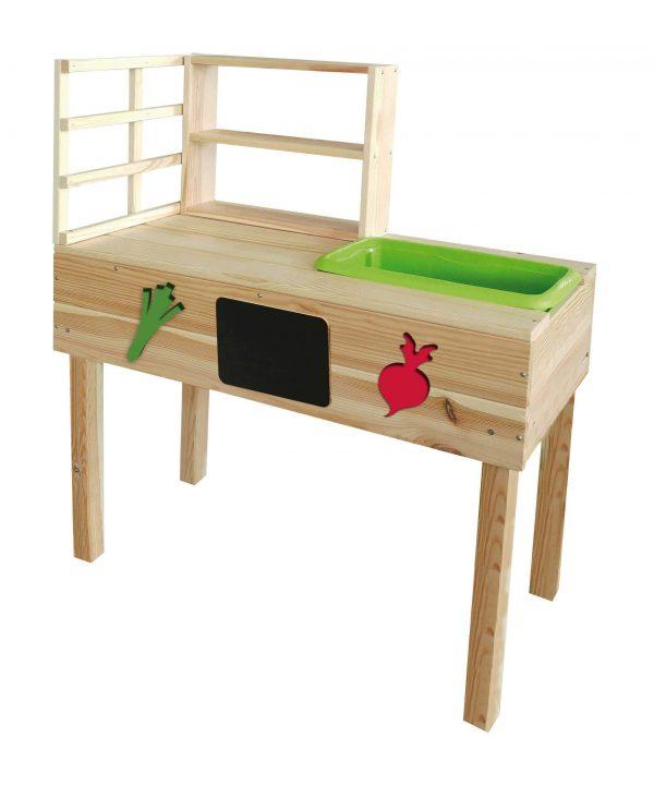 Gartentisch zum Lernen für Kinder