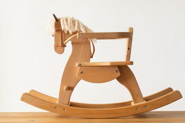 Schaukelpferd Emmy aus Holz