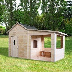 Kinderspielhaus Ida aus Holz für den Garten