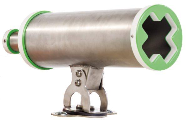 Teleskop aus Edelstahl für Spieltürme